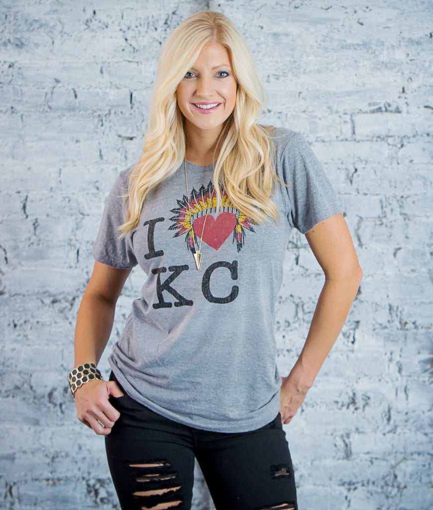 I Heart KC (only XXL available)— FINAL SALE