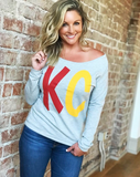 Scoop Neck Big KC—FINAL SALE