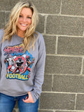 Vintage KC Football Sweatshirt