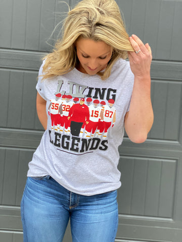LIVing Legends- Unisex tee shirt- FINAL SALE