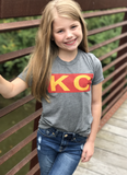 Chiefs Bitty Boomer/ Youth Tee Shirt Combo