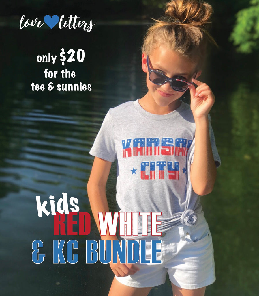 Kids Red, White & KC Bundles