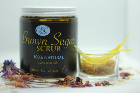 Brown Sugar Scrub 8 fl.oz