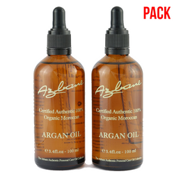 Buy 2x 100ml - Super Saver Pack - Organic Moroccan Argan Oil 100% Pure - Argan Oil in UAE