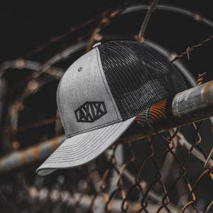 Tombstone Trucker Hat - Heather / Black