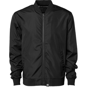 Blackout Bomber Jacket - AXIX Clothing Co. - Veteran Owned Lifestyle Brand