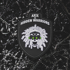 AXIX x Hidden Warriors PVC Patch