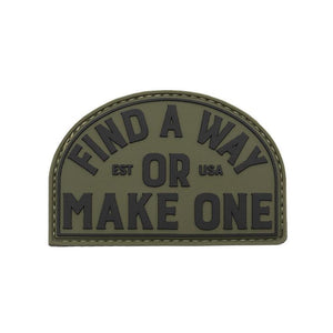 FAW PVC Patch - Olive - AXIX Clothing Co. - Veteran Owned Lifestyle Brand