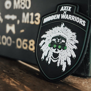 AXIX x Hidden Warriors PVC Patch - AXIX Clothing Co. - Veteran Owned Lifestyle Brand