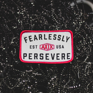 Fearlessly Persevere - Woven Patch