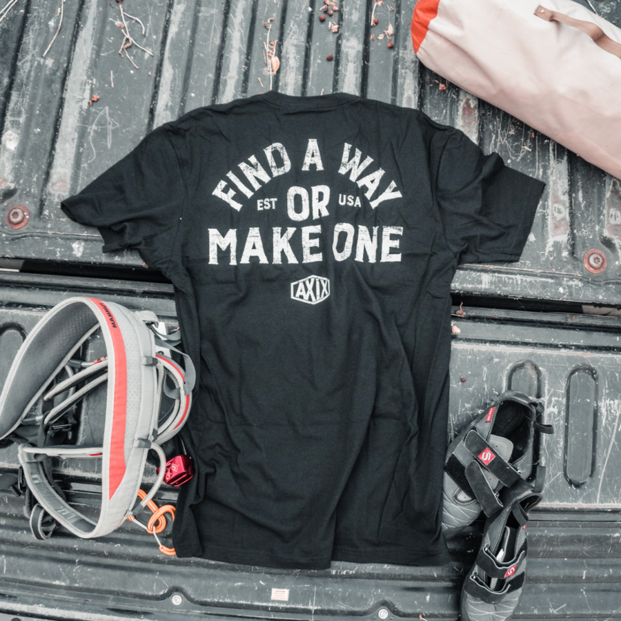 Find A Way, or Make One - Black T