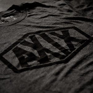 AXIX Solid Logo - Charcoal T