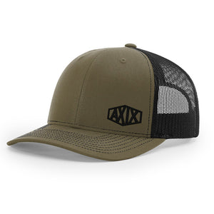 Tombstone Trucker Hat - Louden / Black - AXIX Clothing Co. - Veteran Owned Lifestyle Brand