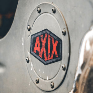 AXIX - Battleworn Tombstone Sticker