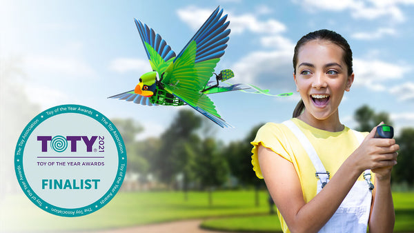 Go Go Bird named finalist for Innovative Toy of the Year for the 2021 TOTY Awards!