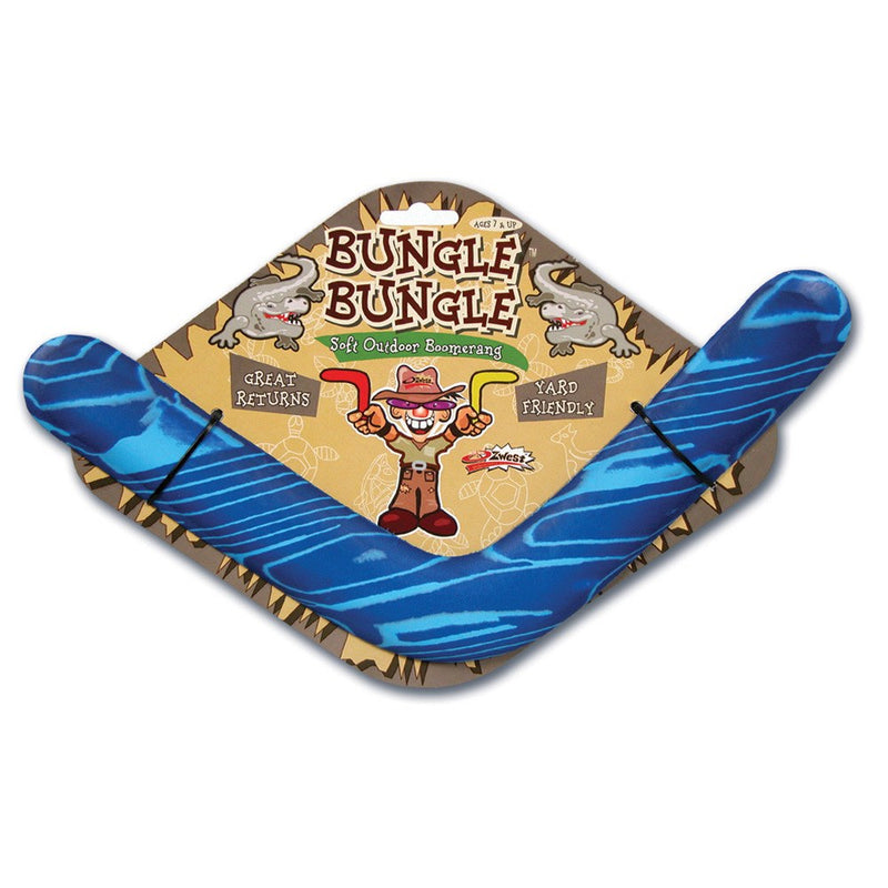 Fly Toys - Bungle Bungle Soft Outdoor Boomerang - Colors May Vary
