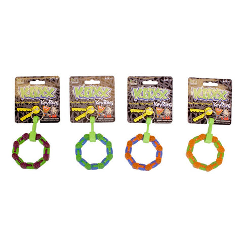 Novelties - Klixx  Key Ring - Color Varies