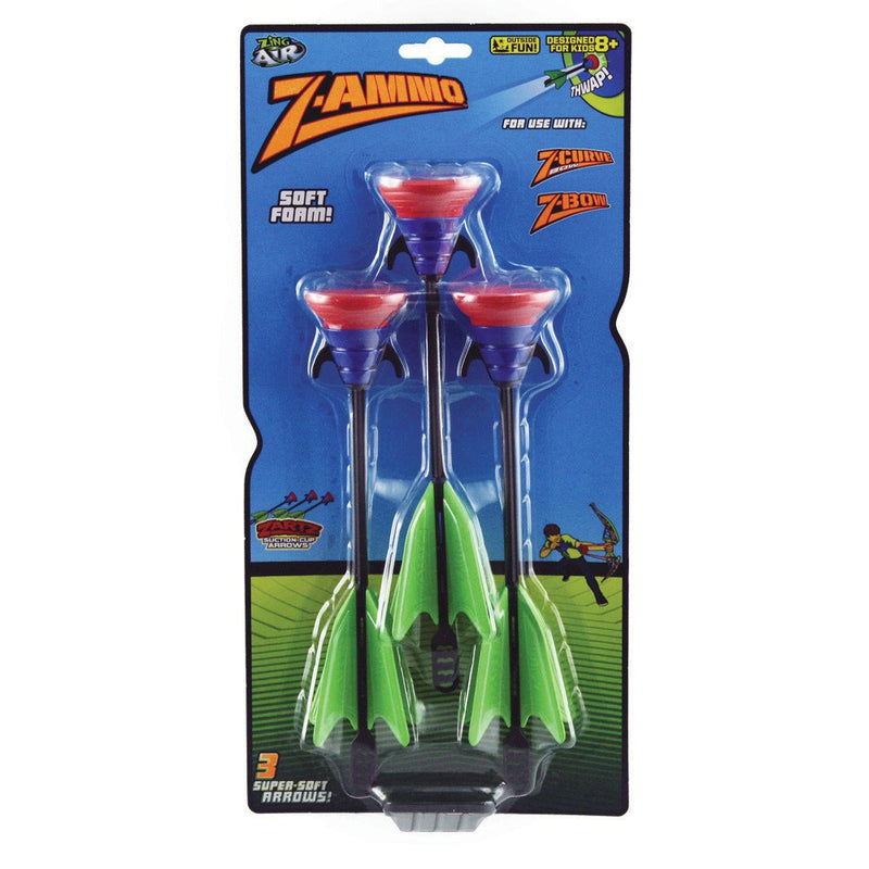 Sport Toys - Z-ammo Suction Cup Arrows Refills For Z-curve Bow And Z-bow