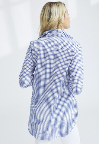 Grayson - Navy Classic Gingham