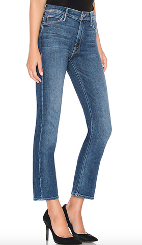 Mari High Waist Slim Straight Leg - 5 years