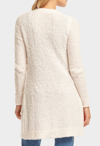 Kimberly Cardigan - Sea Salt White