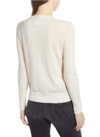 Zadig & Voltaire - Miss CP Skull Cashmere Sweater - Creme - 50% off