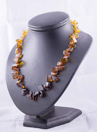 Warmer weather + New jewellery = Baltic amber beads