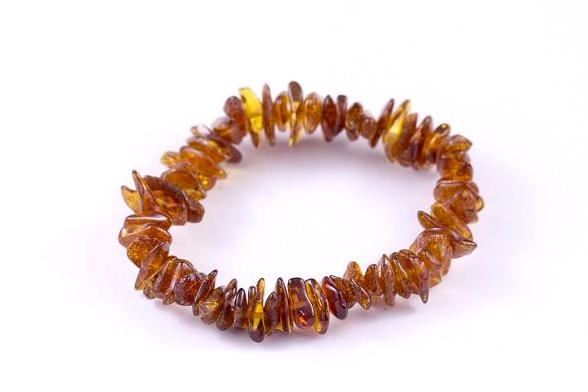 Cognac Baltic Amber Mix 'n Match Stackable Bracelet