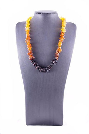 Rainbow Baltic Amber Casual Necklace
