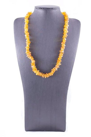 Honey Baltic Amber Casual Necklace