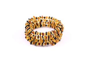 Baltic Amber Multi Wrap Bracelet