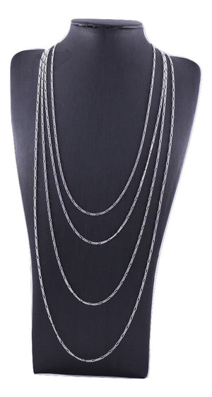 Sterling Silver Figaro Chain - different lengths available