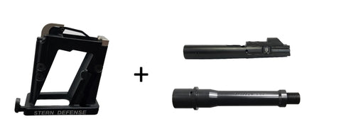 KEY COMPONENTS 6 INCH BARREL KIT 40SW.