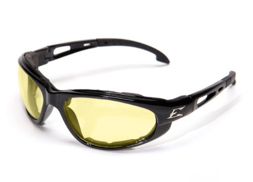 Dakura — Black Frame with Gasket / Yellow Vapor Shield Lens
