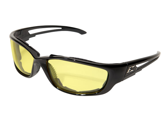 Kazbek XL — Black Frame with Gasket / Yellow Vapor Shield Lens