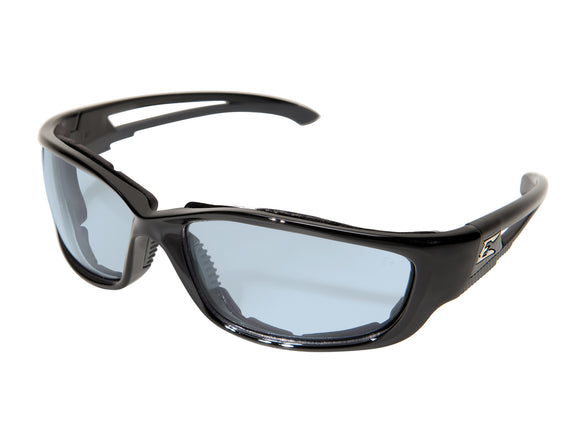 Kazbek XL — Black Frame with Gasket / Light Blue Vapor Shield Lens