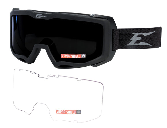 Batian — Black Goggles / Clear Vapor Shield, G-15 Vapor Shield Lenses