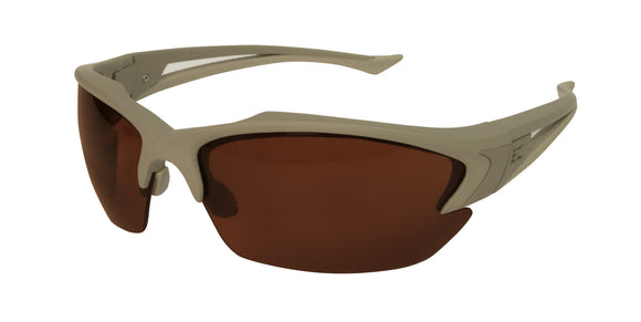 Acid Gambit 2 Lens Kit – Soft-Touch Matte Desert Sand Frame / Polarized Copper, Clear Vapor Shield Lenses