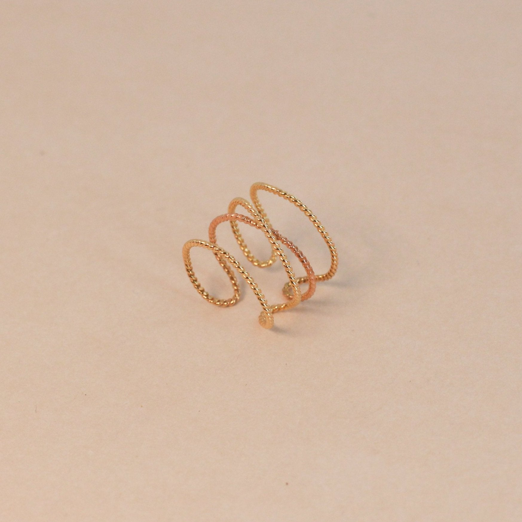 Twisted Demi Cuff