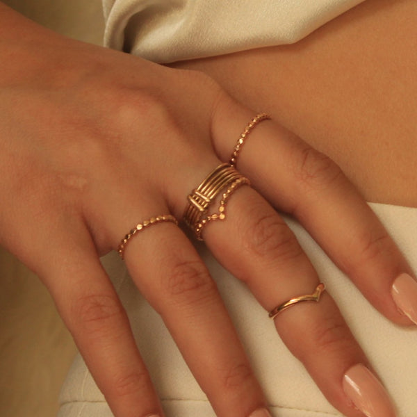 5 Ring Set: Vixin Set