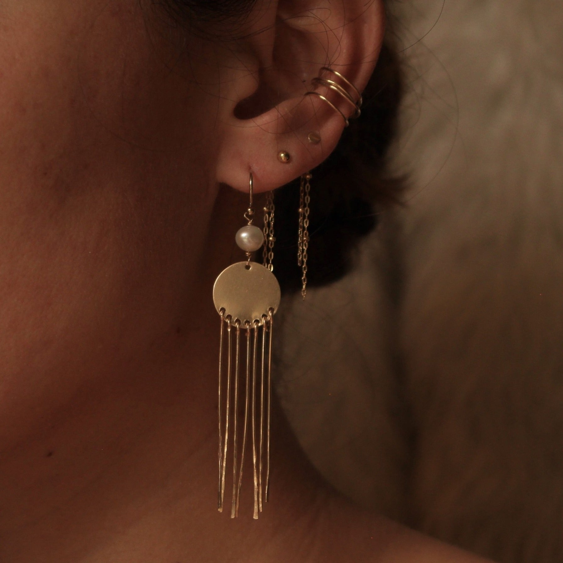 Limited Edition: Midnight Shore Earrings
