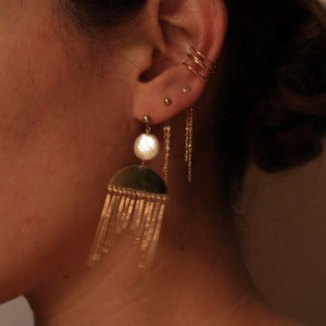 Limited Edition: Half Moon Shore Earrings