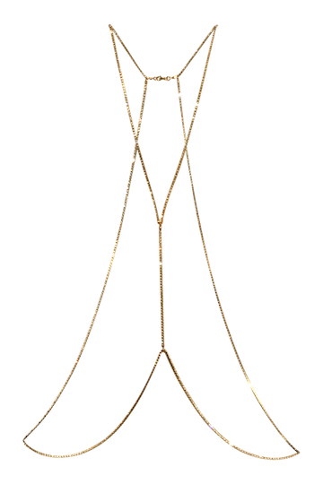 Crystal Body Chain