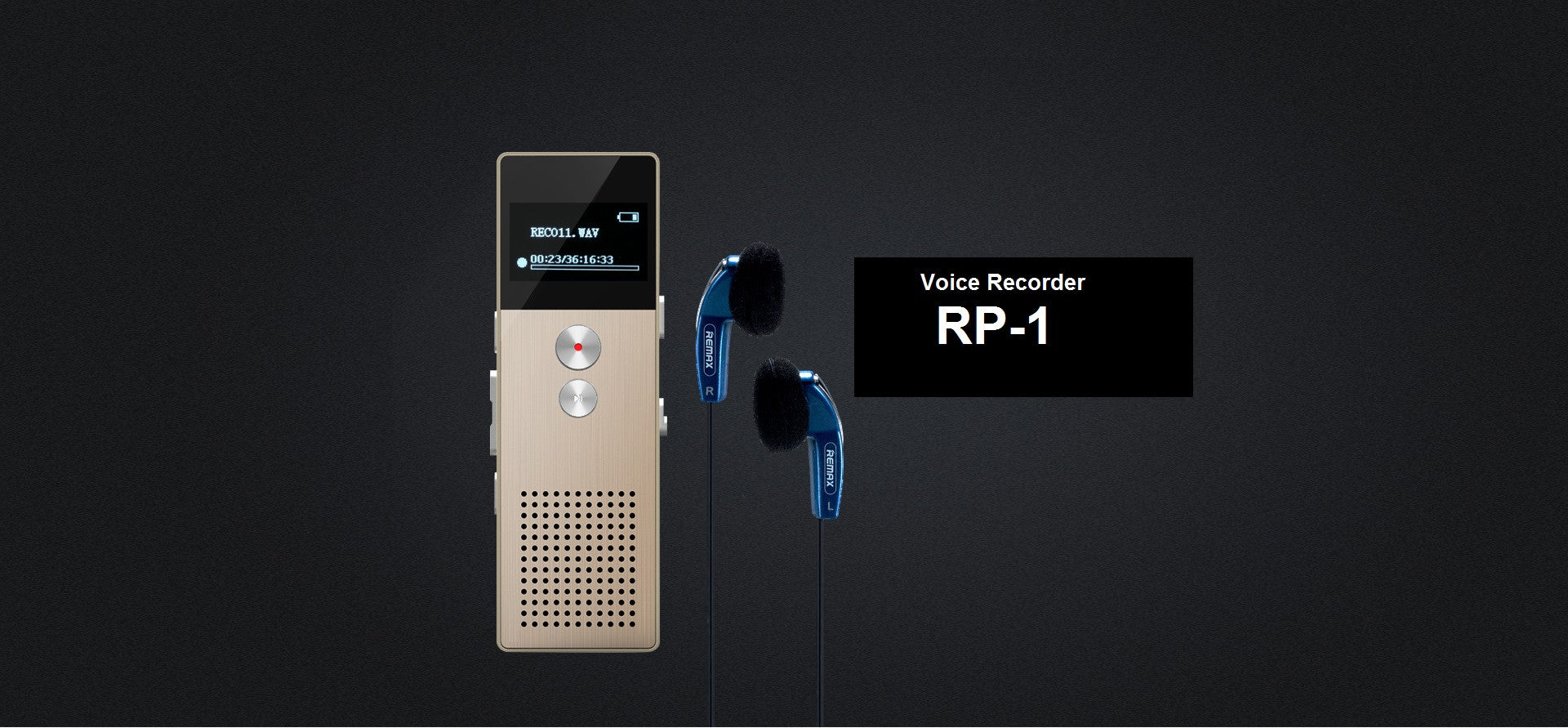 REMAX Official Store - Voice Recorder RP1