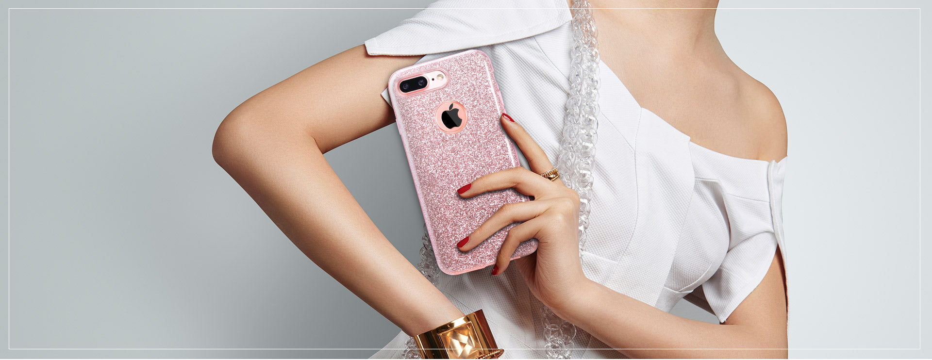 REMAX Official Store - Case Glitter Charming iPhone 7