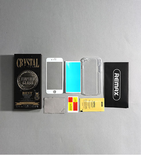 REMAX Official Store - Crystal Set of Case and Tempered Glass