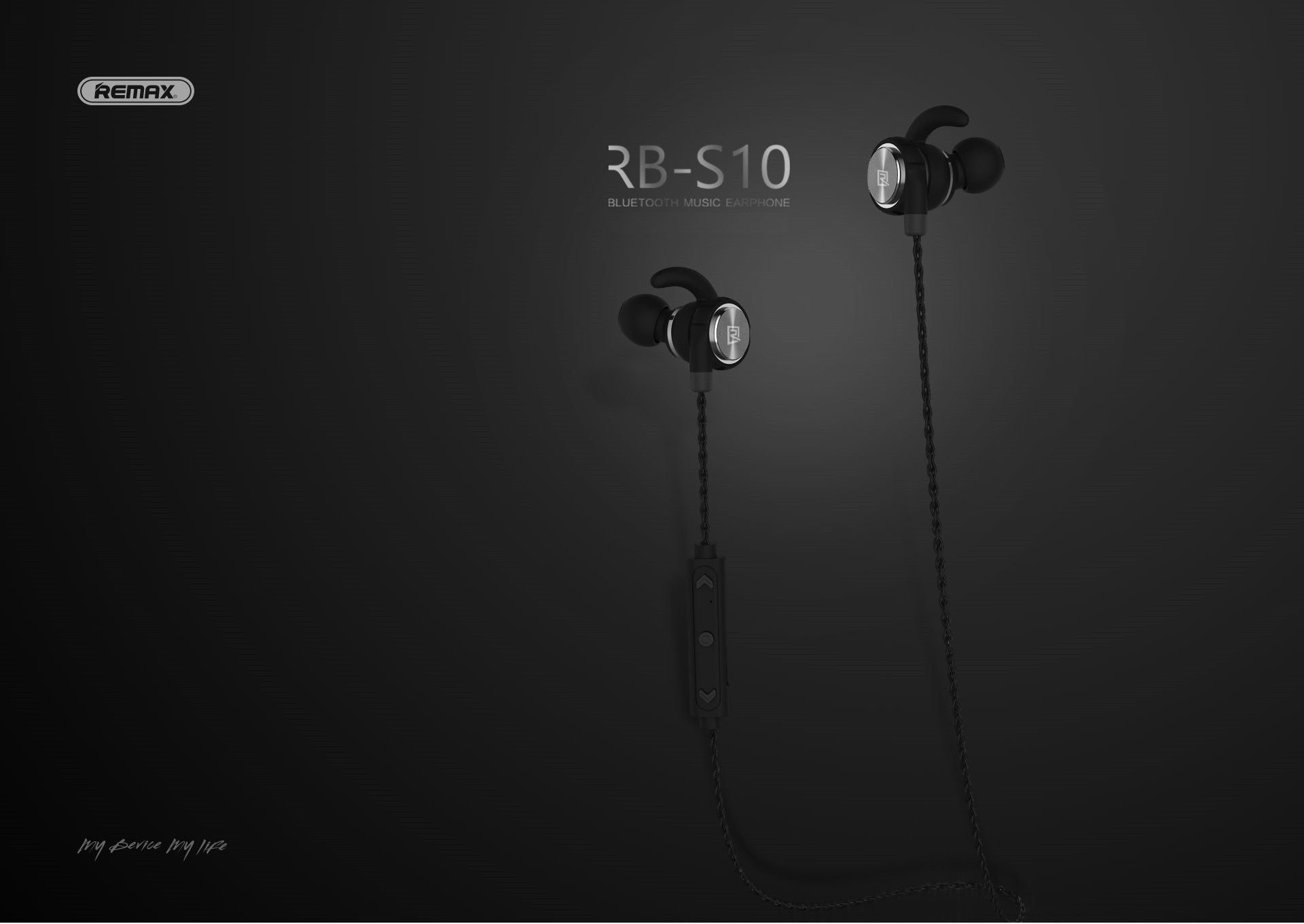 REMAX Official Store -Bluetooth Headphones Sporty RB-S10