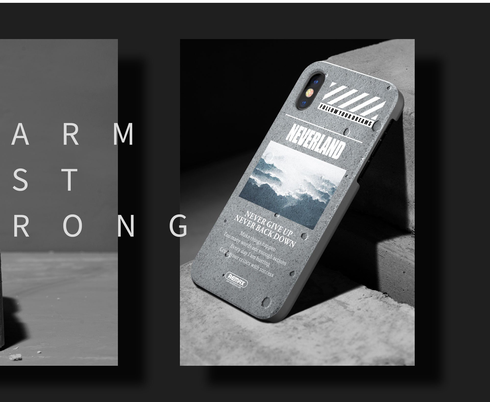 Armstone is the original & best super thin iPhone X case. It's designed to keep the original look of your iPhone X while still protecting it
