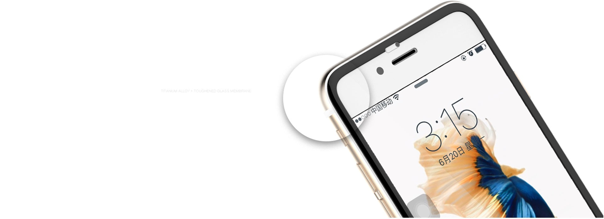 REMAX Official Store -Tempered Glass Ironwing 3D iPhone 6/6S/Plus