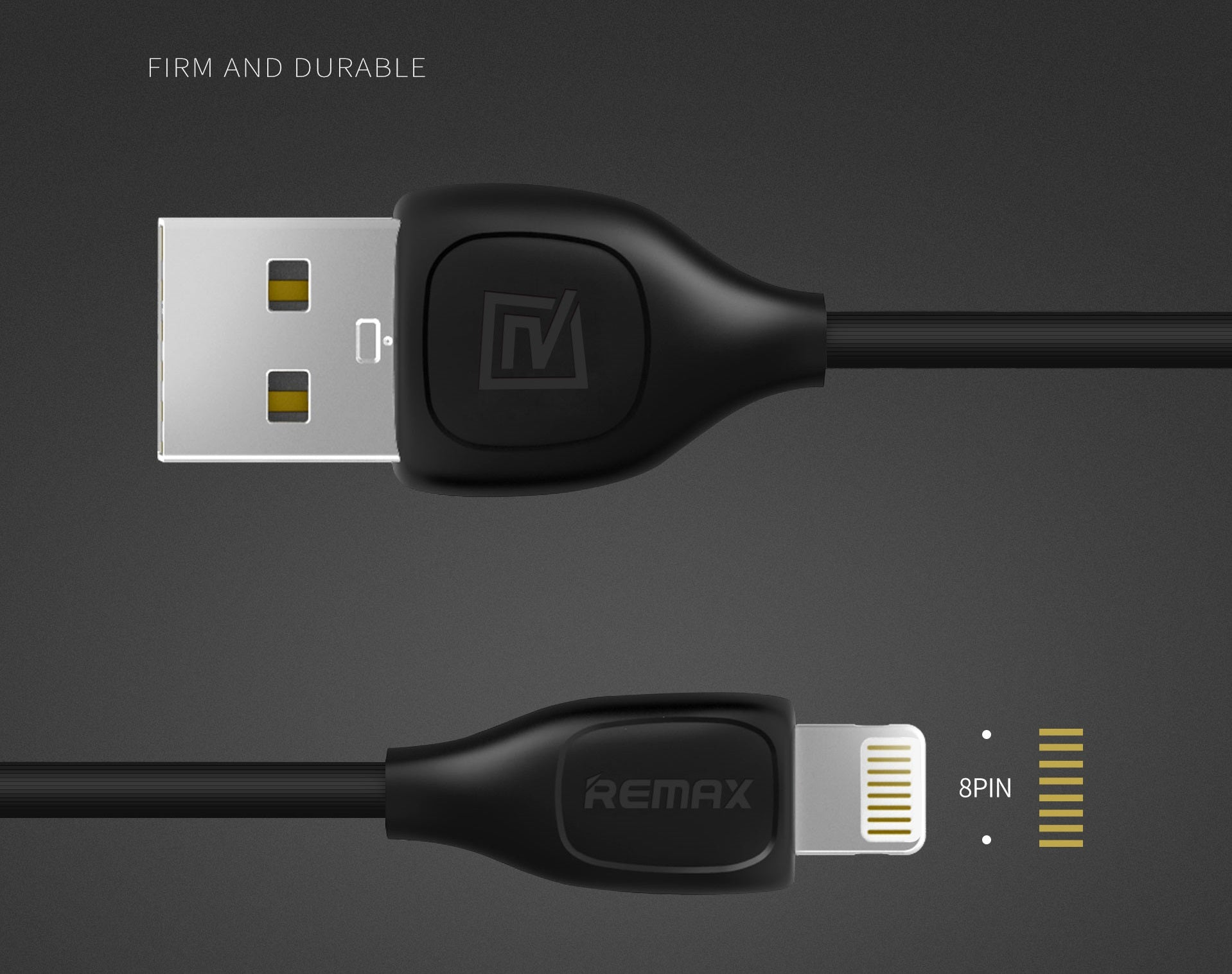 REMAX Official Store - Data Cable Lesu 2 in 1 Lightning Micro USB